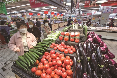 全国食用农产品市场价格比前一周下降1.2%